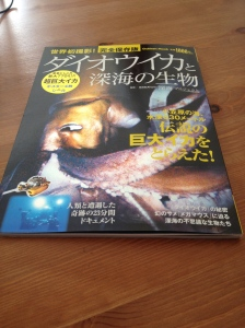 The Giant Squid - Japan's most popular underwater creature this summer!